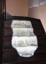 Soft Faux Fox Fur Rug Floor Mat Thick Chair Sofa Cover Blanket Area Carpet 2'x5'