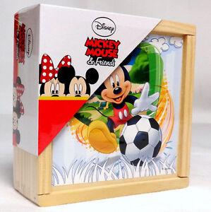Wooden Puzzles, Bricks, Minnie and Mickey Football