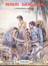 SIMON LANGARM N° 02 ( DE LAATSTE KETTING ) : BOEMERANG 2: UITG. FARAO 1989 () :