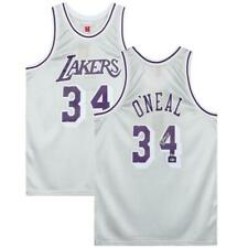 SHAQUILLE O'NEAL Autographed Los Angeles Lakers 1996-97 Platinum Jersey FANATICS