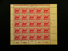 International Philatelic Exhibition Issue 2cent US Stamp MNH Sheet CV $600 VF +