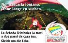 G AA 70 C&C 2861 SCHEDA TELEFONICA USATA NON CERCARLA DELTAPLANO BILINGUE
