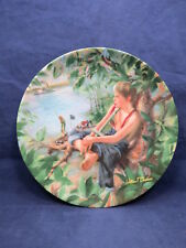Edwin Knowles Collector Plate William Chambers Tom Sawyer the Pirate 6-1
