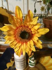 Home Interior Set of Sunflowers candle holders