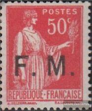 Frankreich MP7 (kompl.Ausg.) mit Falz 1933 Militärpostmarke