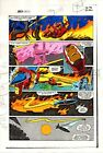1983 Iron Man 177 original Marvel Comics color guide art page 22: 1980's Ironman