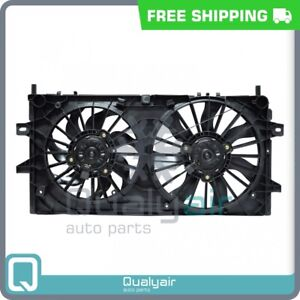 AC Radiator-Condenser Fan fits Buick Allure, LaCrosse / Chevrolet Impala, ... QU