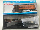 Electrotren HO 1:87 2nd Class Carriage Brown 'Costa' 500 MZA Kit Model