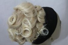 New Synthetic Soft Net Loose Curly Drawstring Synthetic BUN Hairpiece Extension