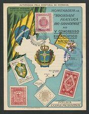 BRASIL MK 1948 CONGRESSO EUCARISTICO MAXIMUMKARTE CARTE MAXIMUM CARD MC CM z1277