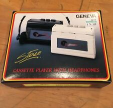 Portable Cassette Player Tape Walkman Headphones VINTAGE NEW OLD STOCK GOTG 80s