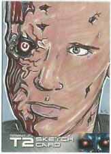 Terminator 2 Judgment Day Sketch Card drawn by K L Dye