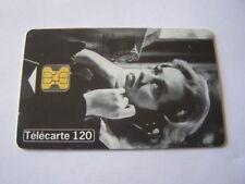 telecarte jeanne moreau cinéma 10 120u ref phonecote F700