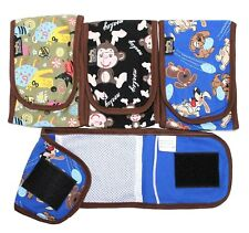 SET - 3pcs Diapers Male Boy BELLY BAND Wrap Reusable Washable For SMALL Dogs BBG