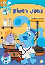 BLUE'S CLUES: BLUE'S JOBS - DVD - Region 1 - Sealed