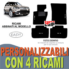 TAPPETINI AUTO SU MISURA PER BMW X3 E83 MOQUETTE E FONDO GOMMA + 4 RICAMI EASY