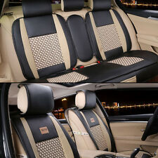 10pcs Set PU Leather Car Seat Cushion Cover For Toyota Corolla Camry Rav4 Prius