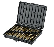 230pc  Mastercraft Titanium Coated  Drill Bit Set Kit for Metal & Wood