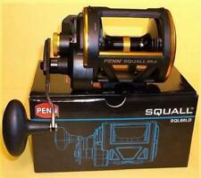 Penn Squall Sql60Ld Lever Drag Conventional Fishing Reel 1206096 New