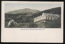 Postcard MONADNOCK MOUNTAIN  NH House View 1907?