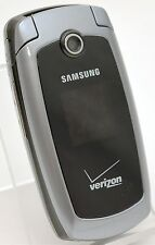 Samsung SCH-U410 Black Verizon Flip Cell Phone CDMA GPS Camera Bluetooth 2G