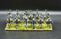 28mm Napoleonic French Chasseurs Cavalry. PAINTED TO ORDER.
