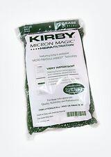 9 Genuine Kirby Micron Magic Sacchetti per aspirapolvere Sentria Ultimate Diamond G6 G5 G4 G3