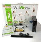 Nintendo Wii Console With Fit Balance Board Bundle with Games Tested