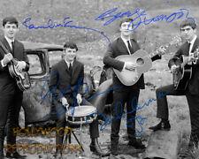 REPRINT - THE BEATLES ~ Autographed signed photo ~ LENNON MCCARTNEY