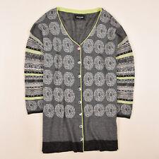 Eva & Claudi Damen Cardigan Pullover Sweater Gr.XL (DE 42) Leinen Strick 85655
