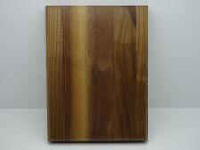 walnut award plaque 6 x 8 inch with keyholes