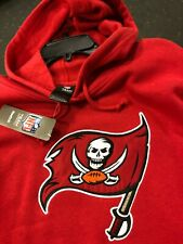 Tampa Bay Buccaneers  Hooded Sweatshirt Hoodie MEN'S    REEBOK NFL RED