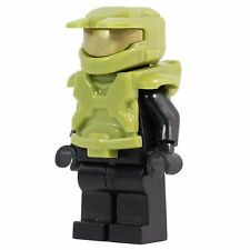Custom LEGO SPACE MASTER CHIEF Green ARMOR for Lego Minifigures- ARMOR ONLY