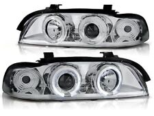 FARI ANTERIORI LPBM28 BMW 5 SERIES E39 1995 1996 1997 1998 1999 2000-2003 CHROME