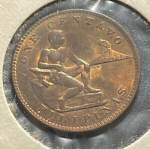 Philippines 1939 One Centavo Coin