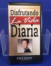 Joyce Meyer Disfrutando La Vida Diaria Spanish Audio Cassette Tapes