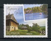Serbia 2018 MNH Tourism Zlatibor 1v Set Landscapes Trees Architecture Stamps