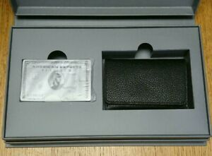 American Express AMEX Cards Card Case Platinum Members Only Not for sale Rare