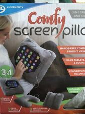 JML Comfy Screen Pillow - 3 in 1 Tablet Holder and Travel Pillow - Brand New