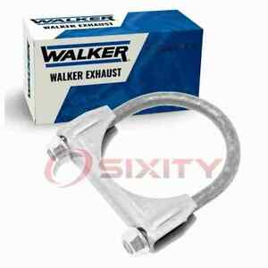Walker Converter To Resonator Assm Exhaust Clamp for 1985 Volvo 745 2.3L L4 iy