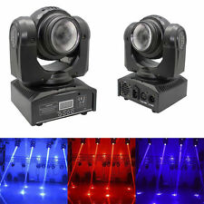 80W 2x LED Double Sides RGBW Spot Moving Head Stage Lighting DMX DJ Party Light