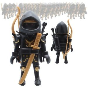 Playmobil Figurine Asie Ninja Samouraï Asiakrieger Fantôme Assassin