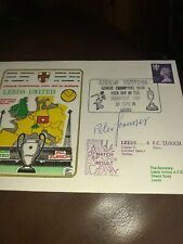 Leeds United Peter Lorimer Signed First day Cover