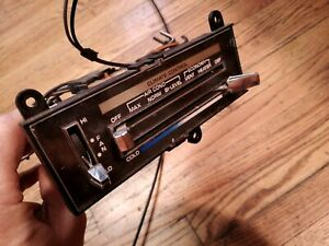 1975-76 Buick A/C HEATER Climate Control Head & Blower Switch  VGC