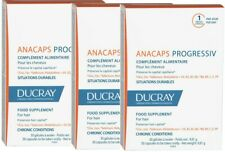Ducray Anacaps Progressiv 2 or 3 pack of 30 Supplement Preserves Hair Capital