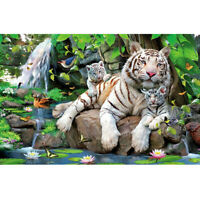DIY 5D Diamond Painting Embroidery Animal Kit Art Cross Stitch Home Decor Gift