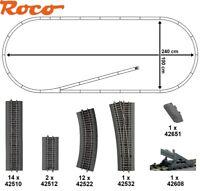 Roco H0 51328-4 Roco Line-Gleisset 31-teilig mit 1 Weiche - NEU + OVP