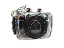 """Toyota Aristo Action Camera 2"""" Touch Screen With Clear Water Proof Case"""