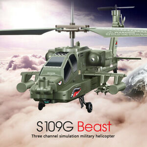 Syma S109G 3.5Channel Remote Control Led Light RC Toy Helicopter Drone with Gyro