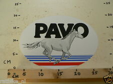 STICKER,DECAL PAVO PAARDEN HORSE LARGE 28 CM